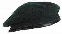 Берет зеленый MFH 10104B Commando Green