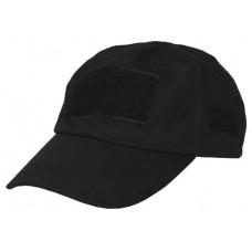 Бейсболка MFH 10263A Black 100% коттон