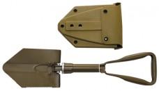 Складная лопатка MFH BW Coyote Tan в чехле