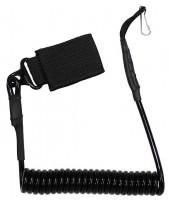 Шнур страховочный черный MFH 30753A