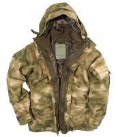 Куртка мембрана с флисовой подстежкой MIL-TEC A- Tacs FG