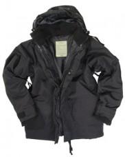Куртка мембрана с флисовой подстежкой MIL-TEC Black