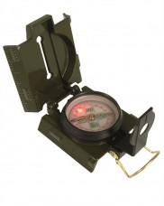 Компас MIL-TEC армійський металевий US (світлодіодне підсвічування)