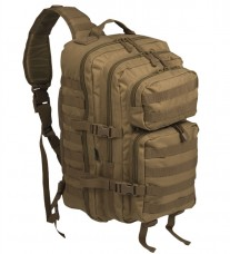 Рюкзак однолямочний MIL-TEC ONE STRAP ASSAULT PACK LG coyote