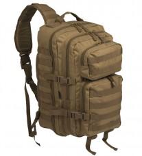 Рюкзак однолямочний ONE STRAP ASSAULT PACK LG Coyote Mil-tec