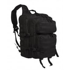 Рюкзак однолямочний ONE STRAP ASSAULT PACK LG Black Mil-tec