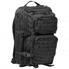 Купить 20л рюкзак MIL-TEC LASER CUT BLACK 14002602 в интернет-магазине Каптерка в Киеве и Украине