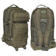 Купить 36л рюкзак MIL-TEC LASER CUT OLIVE 14002701 в интернет-магазине Каптерка в Киеве и Украине