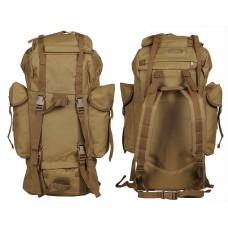 65л Полевой рюкзак Mil-Tec 14023005 койот