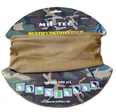 Купить Бандана-балаклава-бафф Mil-Tec койот в интернет-магазине Каптерка в Киеве и Украине