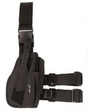 Кобура пістолетна колір чорний на праву ногу Mil-tec