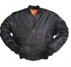 Куртка пилот US Flight Jacket Black Mil-Tec 10403002
