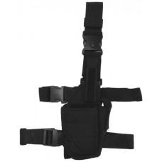 Кобура тактична регульована, чорна, MFH 30710A