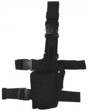Купить Кобура тактична регульована, чорна, MFH 30710A в интернет-магазине Каптерка в Киеве и Украине