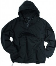 Куртка Анорак MIL-TEC COMBAT на флісі BLACK