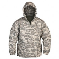 Куртка штормовка Анорак MIL-TEC COMBAT на флисе ACU
