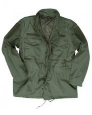 Куртка М65 MIL-TEC олива с мембраной. Дождевик