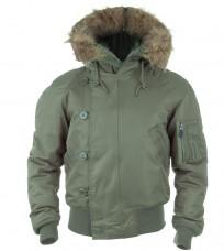 Куртка пілот зимова N2B MIL-TEC OLIVE