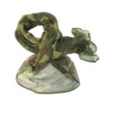 Маскувальна сітка-шарф Mil-tec Woodland