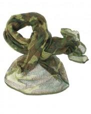 Маскировочный шарф-сетка Mil-tec 12625020 размер 190Х90см Woodland