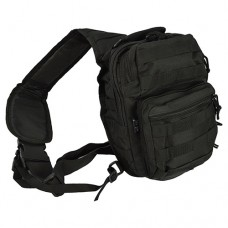 Однолямочний рюкзак ONE STRAP ASSAULT PACK SM Black Mil-Tec