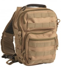 Однолямочний рюкзак ONE STRAP ASSAULT PACK SM Coyote Mil-Tec