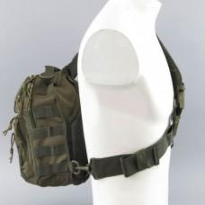 Рюкзак с лямкой на одно плечо MIL-TEC 14059101 олива