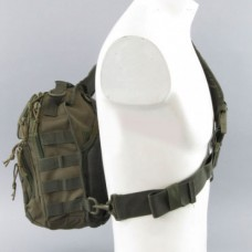 Однолямочний рюкзак ONE STRAP ASSAULT PACK SM Olive Mil-Tec