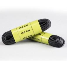 Вощенные шнурки для берц MIL-TEC  180см черные