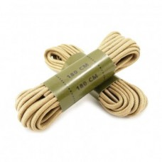 Вощенные шнурки для берц MIL-TEC  180см Койот