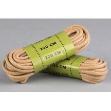 Вощенные шнурки для берц MIL-TEC 220см Койот