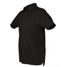 Тактична футболка поло TACTICAL QUICK DRY POLOSHIRT Mil-Tec Black