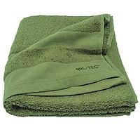Полотенце Армейское 110х50см 100% Cotton Mil-tec олива