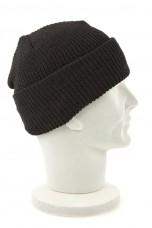 Шапка вязанная черная MIL-TEC Beanie Cap 12133002