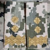 Погон Генерал лейтенант піксель ММ14 муфта Акція Пара