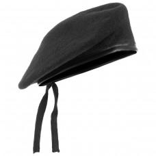 Купить Берет черный MIL-Tec 12403002 в интернет-магазине Каптерка в Киеве и Украине