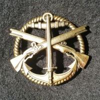 Беретний знак Морська Піхота України (незатверджений варіант)