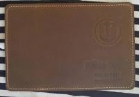 Обкладинка на Війсковий квиток Морська Піхота Коричнева (Хакі)