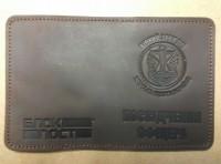 Обкладинка Посвідчення офіцера Морська Піхота (коричнева)