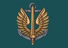 Купить Прапор Морської Піхоти України (новий знак) в интернет-магазине Каптерка в Киеве и Украине