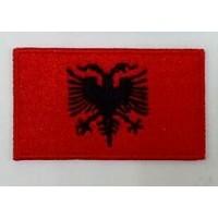 Нашивка прапор Албанії