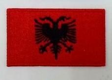 Нашивка флаг Албании