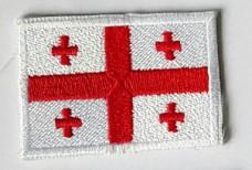 Нашивка флаг Грузии (на заказ)