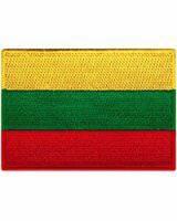 Купить Нашивка прапор Литви в интернет-магазине Каптерка в Киеве и Украине