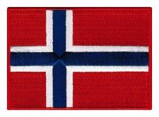 Купить Нашивка прапор Норвегії в интернет-магазине Каптерка в Киеве и Украине