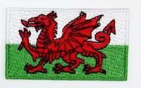 Нашивка прапор Уельсу