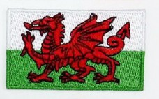 Нашивка флаг Уэльса
