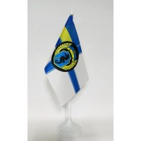 Флаг 73й Морской Центр Спецопераций настольный флажок