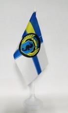 Купить Настільний прапорець 73 морський центр спеціального призначення (ВМСУ) в интернет-магазине Каптерка в Киеве и Украине