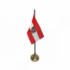 Австрія настільний прапорець з гербом